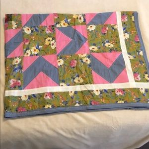 Beautiful handmade quilt!